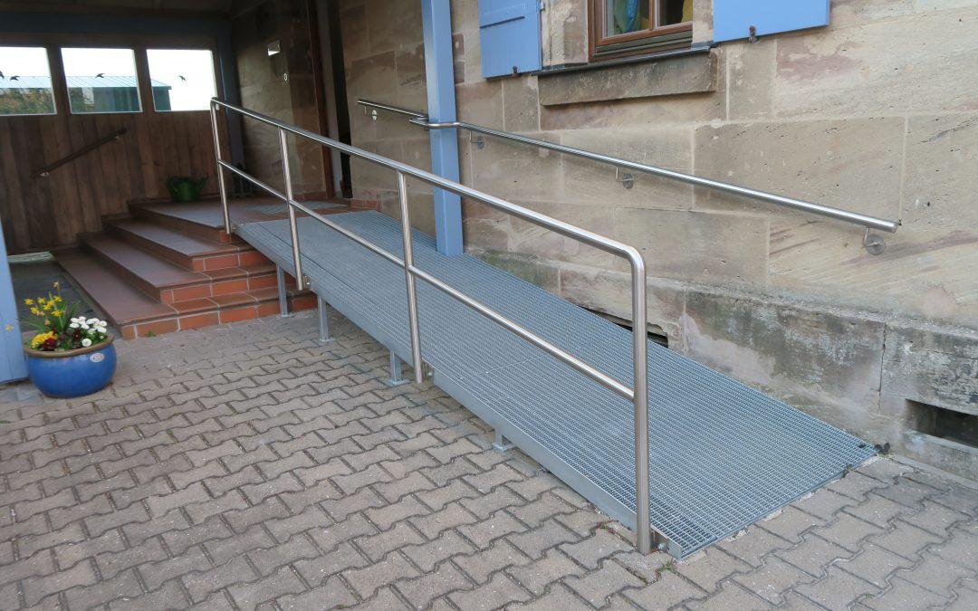 evang. Kirchengemeindehaus in Regelsbach barrierefreundlicher gestaltet